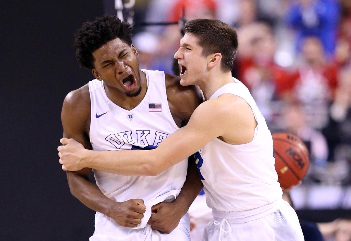 Duke's freshmen scored 60 of Duke's 68 points. No team of freshmen has ever scored more in a National Championship.