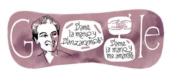 Gabriela Mistral e la sua poesia ricordata nel 126° anniversario della nascita con un doodle da Google