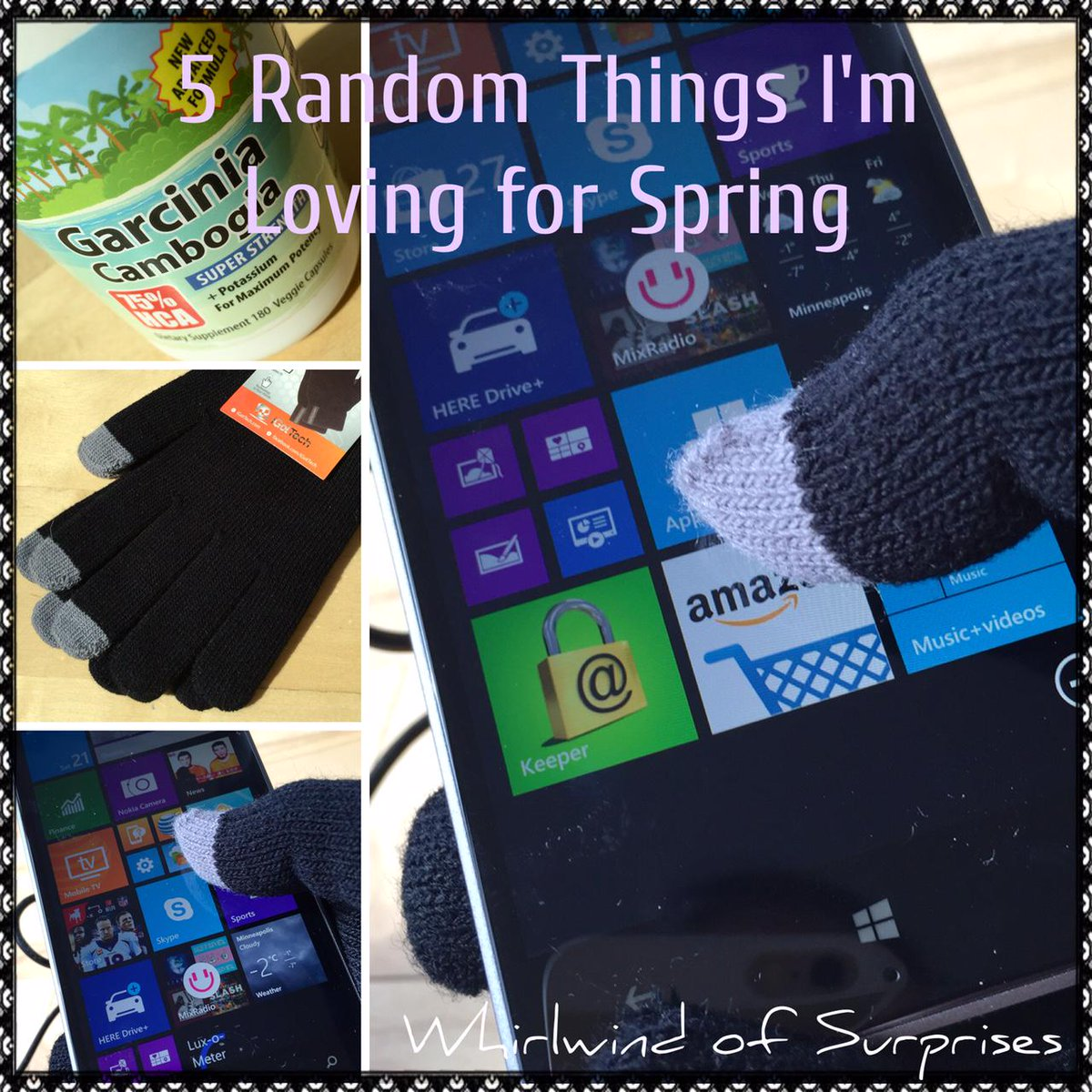 5 Random Things I'm Loving for Spring