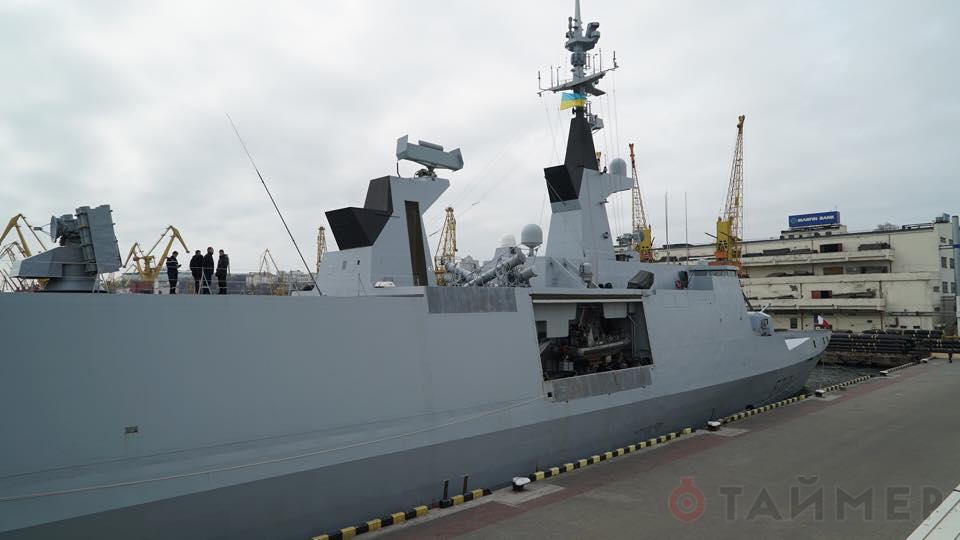 """В Одессу прибыл французский фрегат """"Ла Файетт"""" - Цензор.НЕТ 4805"""