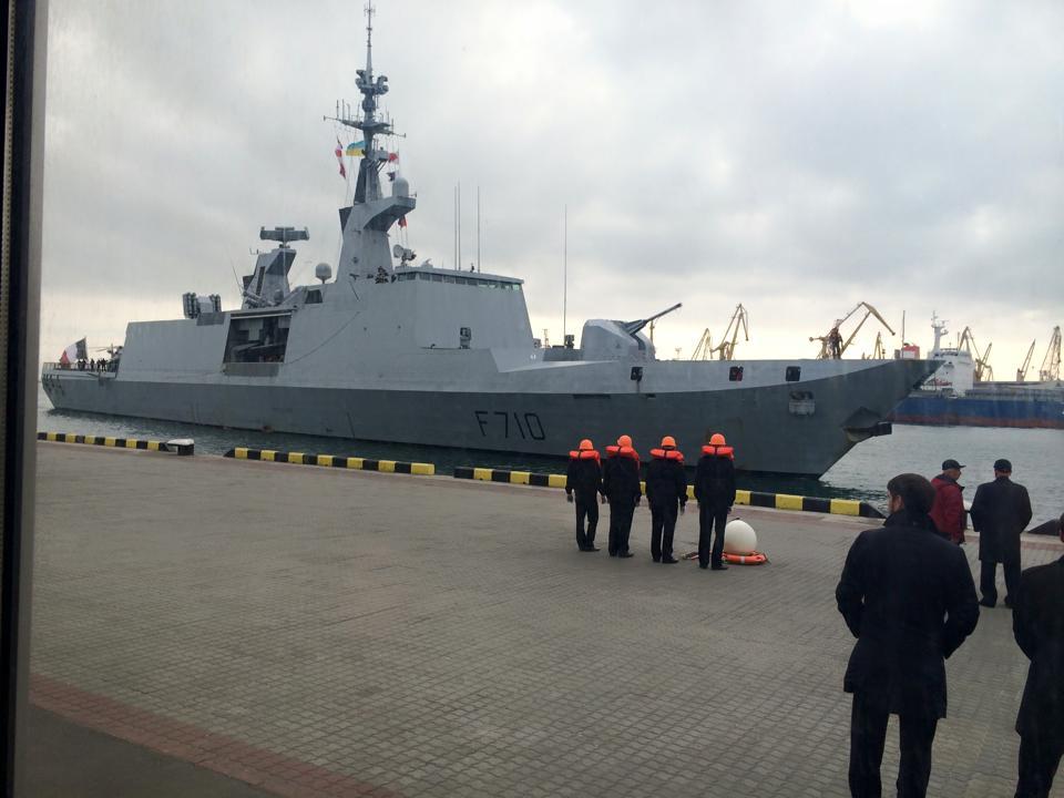 """В Одессу прибыл французский фрегат """"Ла Файетт"""" - Цензор.НЕТ 7215"""