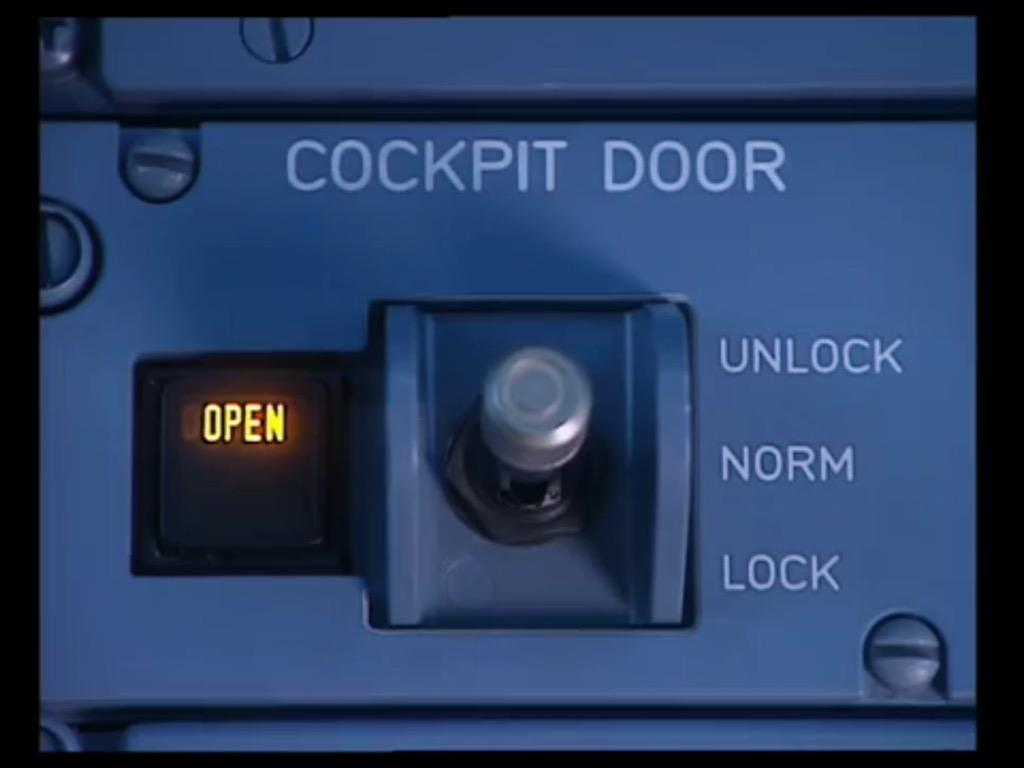 "Found this video explaining how ""lock the door"" mechanism is working in Airbus #Germanwings http://t.co/hjBYhEq9vb http://t.co/D7hkGx6Ktp"