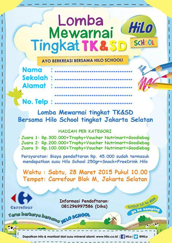 Hilo School On Twitter Rt At Lombaanak Reminder 28 Maret Lomba