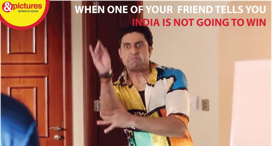 """Haha! """"@AndPicturesIN: Don't loose hope yet...Hum hain Indiawaale #ANDPictures #IndvsAus http://t.co/O48RoozZkv"""""""