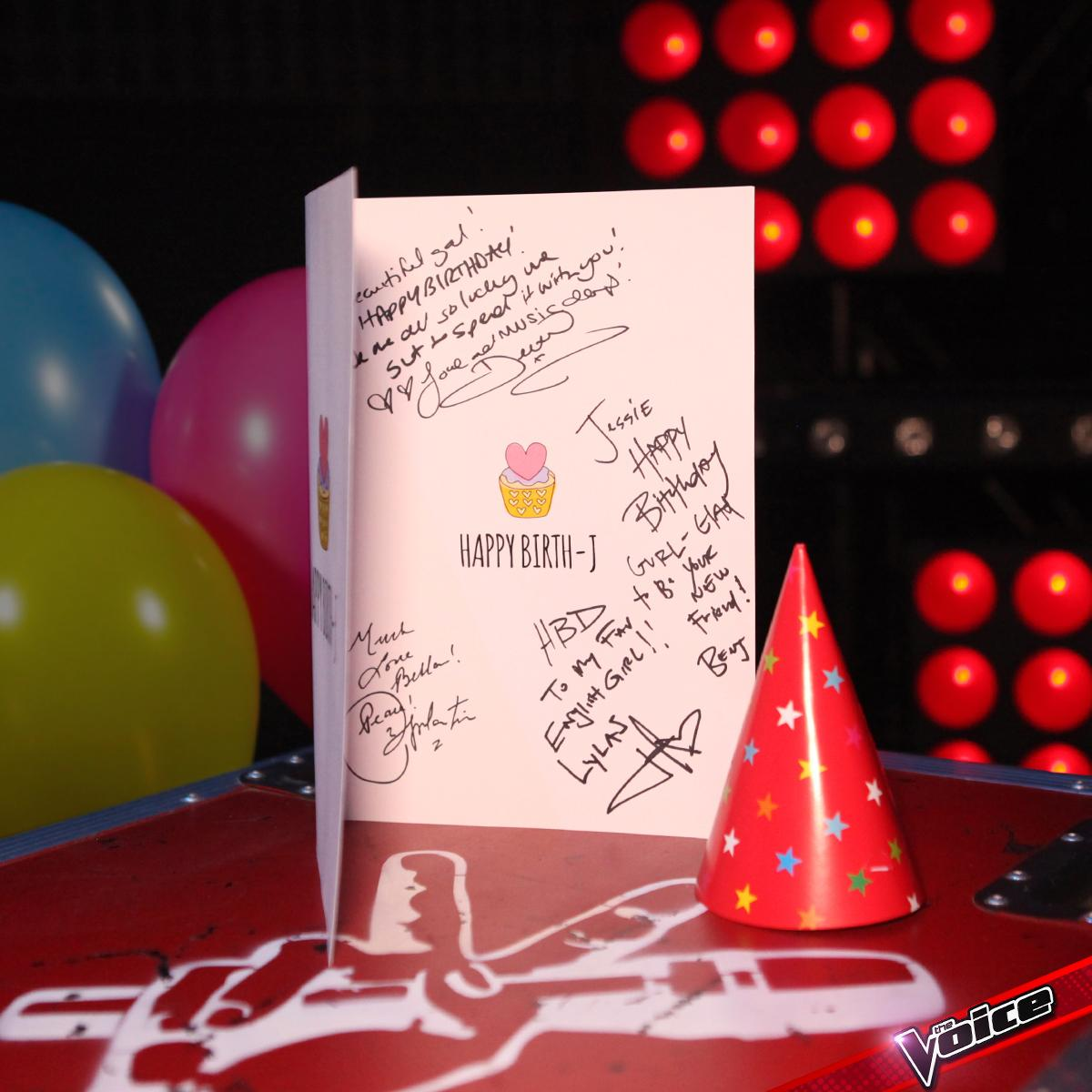 This Is The Card Our Coaches Got Jessie For Her Birthday Retweet To Send Your Bday Wishespictwitter HdQEiy16lL