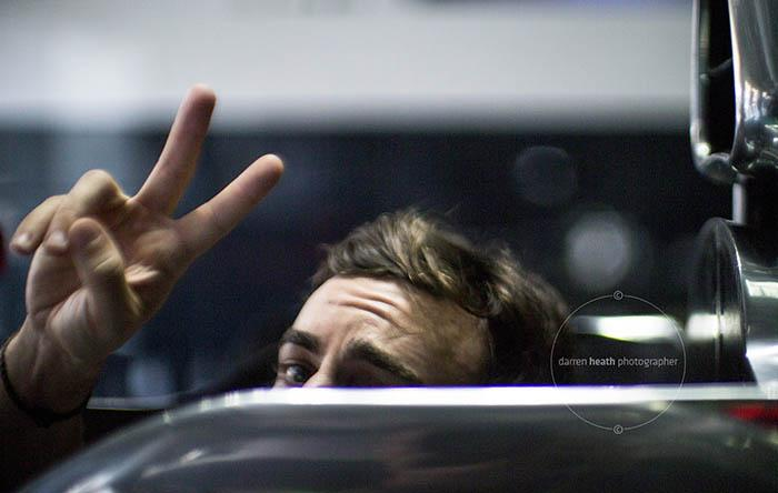 Back in the driving seat! #Alonso @alo_oficial @McLarenF1 #MalaysiaGP http://t.co/vlz5pocfma