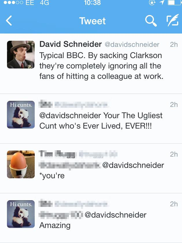 This exchange made me laugh. Life on the internet in a nutshell. http://t.co/ehgFoFTn4w