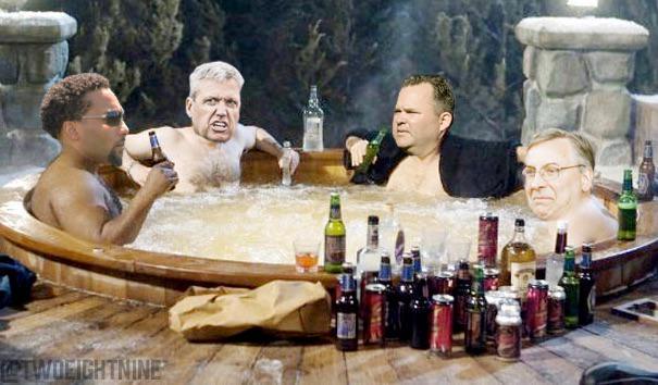 A Hot Tub Bills Machine RT @BuffRumblings: Pegula: #Bills coaches show camaraderie in hot tub http://t.co/BGxx30xa6r http://t.co/lpmalEF8Kv
