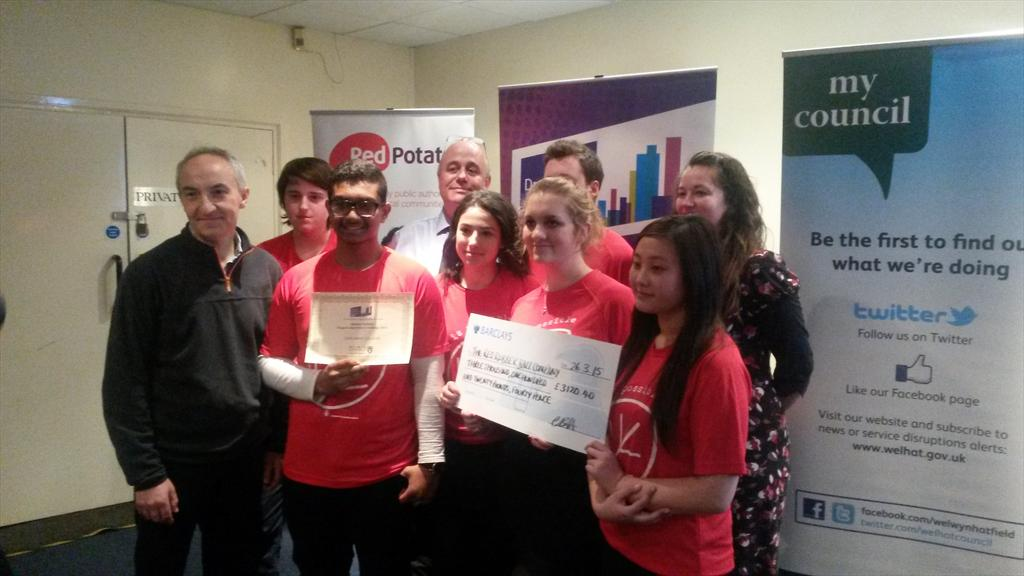 Well done Team NAFASI! Excellent effort from the @oaklandscollege crew (brill t-shirts too!) #WHDACawards2015 http://t.co/o50N6acbNa