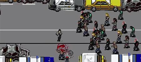 The Walking Dead at an 8 Bit Video Game http://t.co/wzqKgP8kYo http://t.co/xdswc6wObH