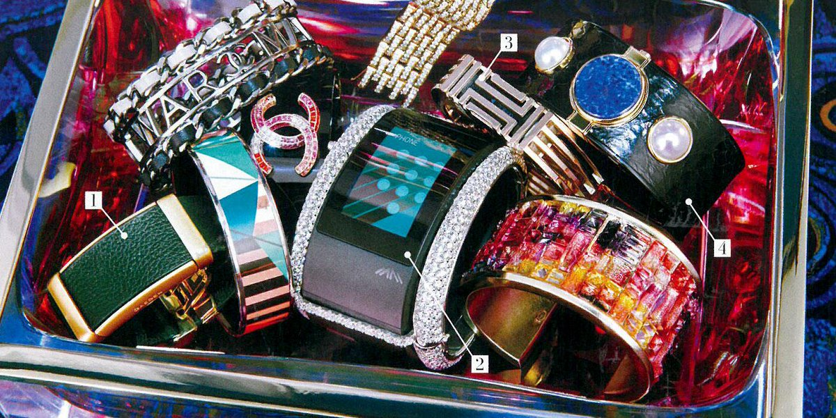 @iamwill @iamPuls loved seeing our 36 carats of arm candy in the April issue of @Vogue! #wearabletech #armcandy http://t.co/cSoGpnccqD