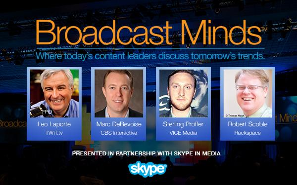Don't miss #BroadcastMinds Apr 13 4:30 PDT; heavy-hitters will chart the trends in broadcast: http://t.co/0b7ZVXLyhF http://t.co/06OWBiSlq5