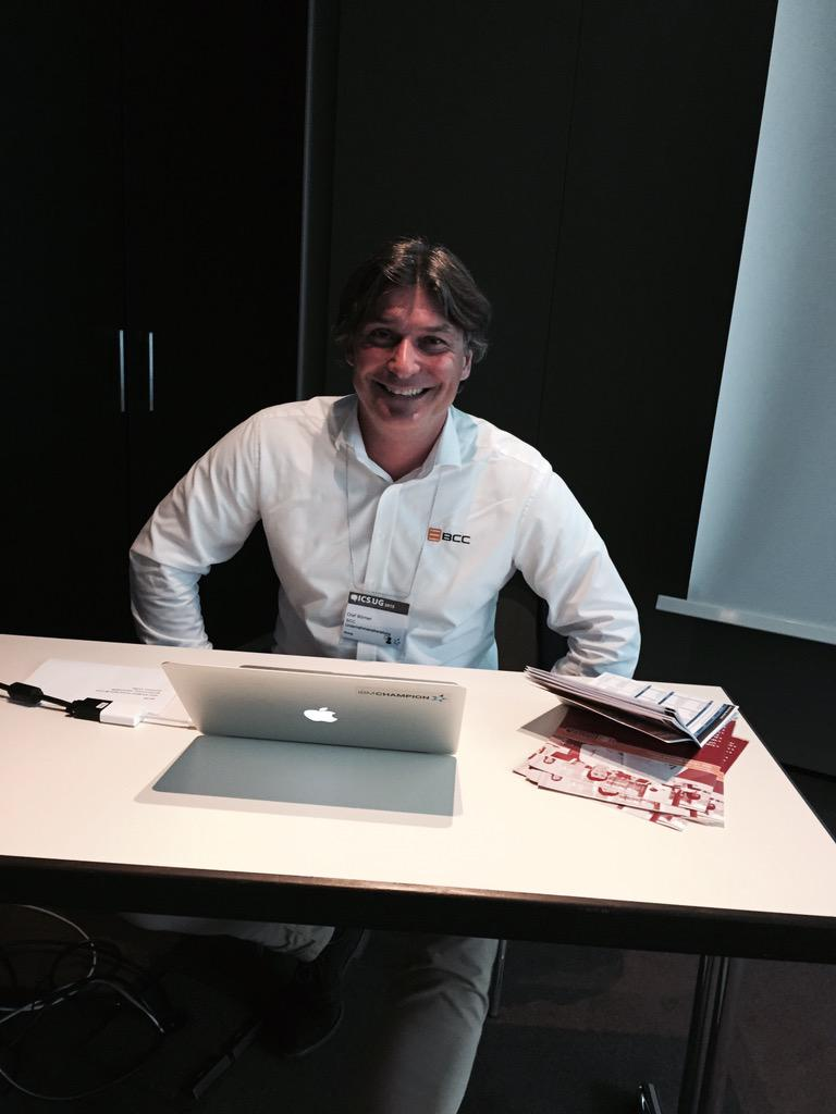 #IBMChampion @OlafBoerner about to start his session on Domino security and compliance #icsug http://t.co/4CkYzKhCL5