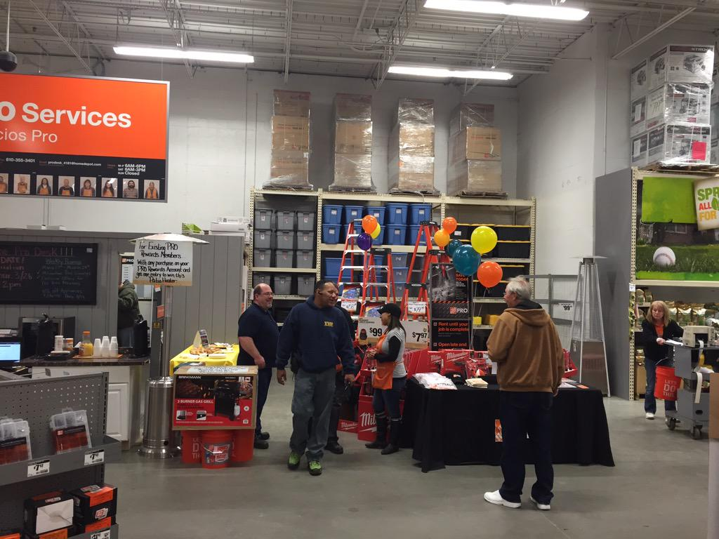 Hd Pro Desk 4181 On Twitter Reciation Event Food Drinks Prizes Homedepot Proreciationevent Http T Co Pg603vseok