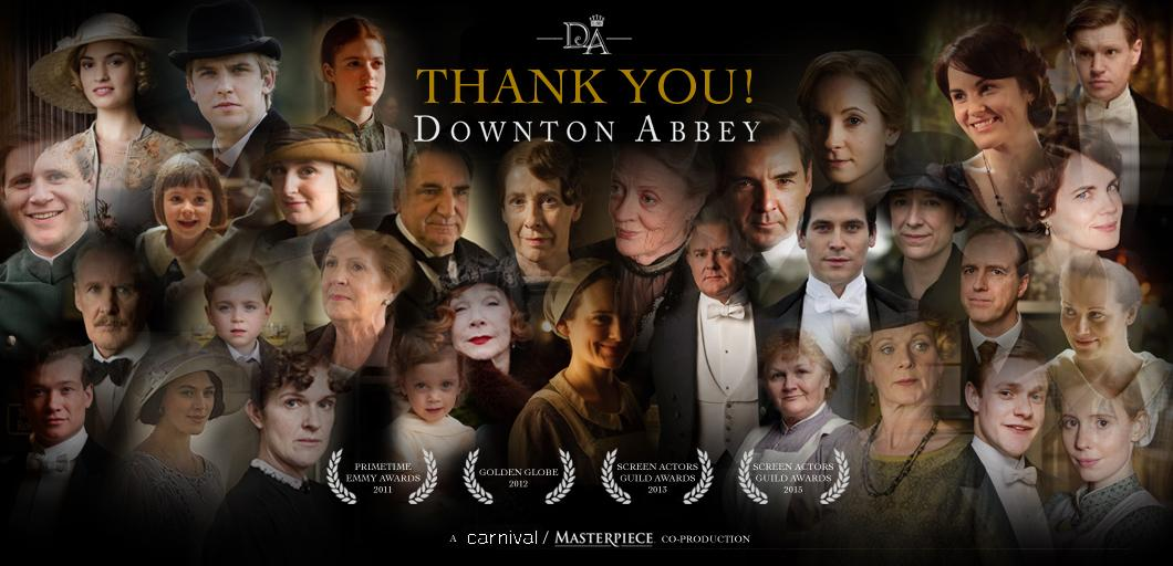 The time has come to announce that Series 6 will be our final visit to #Downton. Thank you for sharing our journey! http://t.co/s8NWG1w7g9