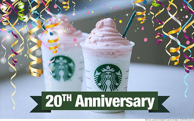 We Tried Starbucks Birthday Cake Frappuccino So You Don T Have To