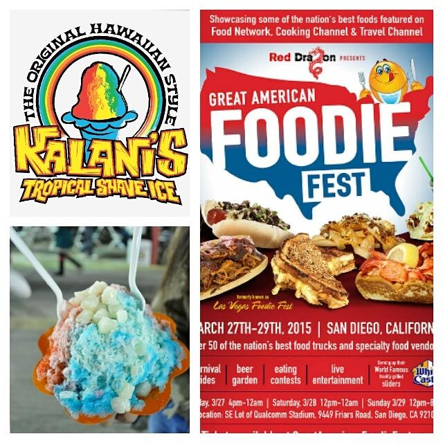 San Diego Ohana.... we comin atcha! Join us for @GAFoodieFest this weekend @qualcomm Center!! Shaka Bra http://t.co/baoi0EJBHP