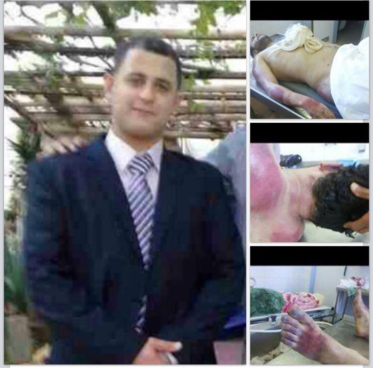 Rami Rajab Elfeitouri was taken into custody by #Karama forces in #Benghazi &was found tortured 2 death 10 days later http://t.co/lCoiEFQmrx