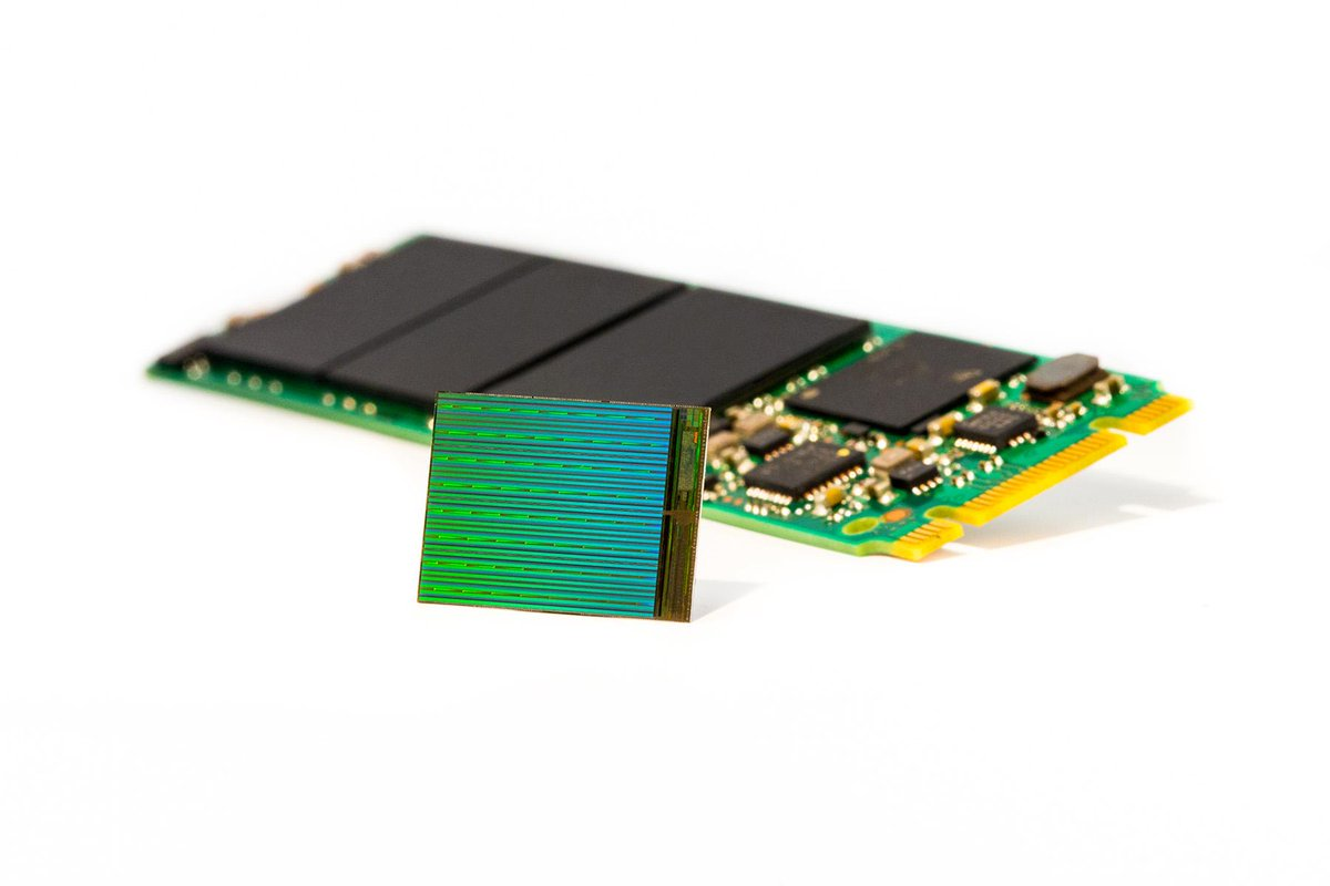 New #3DNAND from Intel and Micron will enable 3.5 terabyte #SSD's the size of a stick of gum. http://t.co/ayEjko8Y0r http://t.co/a0aFSxSQyb