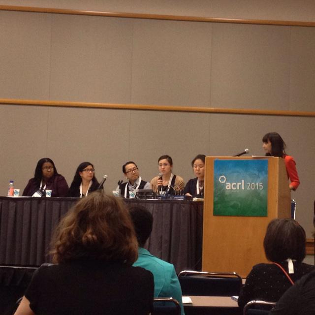 MIECL (https://t.co/mAUWtRJcAL) gets a shout out at From the Individual to the Instuttion at #acrl2015 http://t.co/ms6Y95JkZE