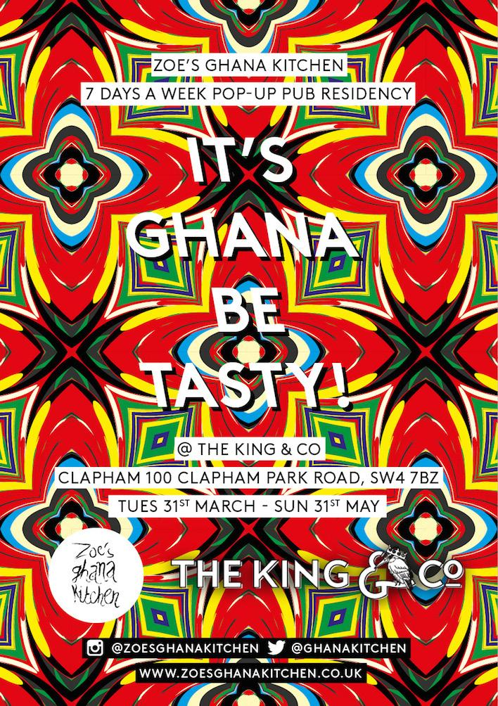 It's Ghana be tasty! @GhanaKitchen comes to @thekingandco, Clapham http://t.co/O977wb60X4 http://t.co/IVxpxCZjsd