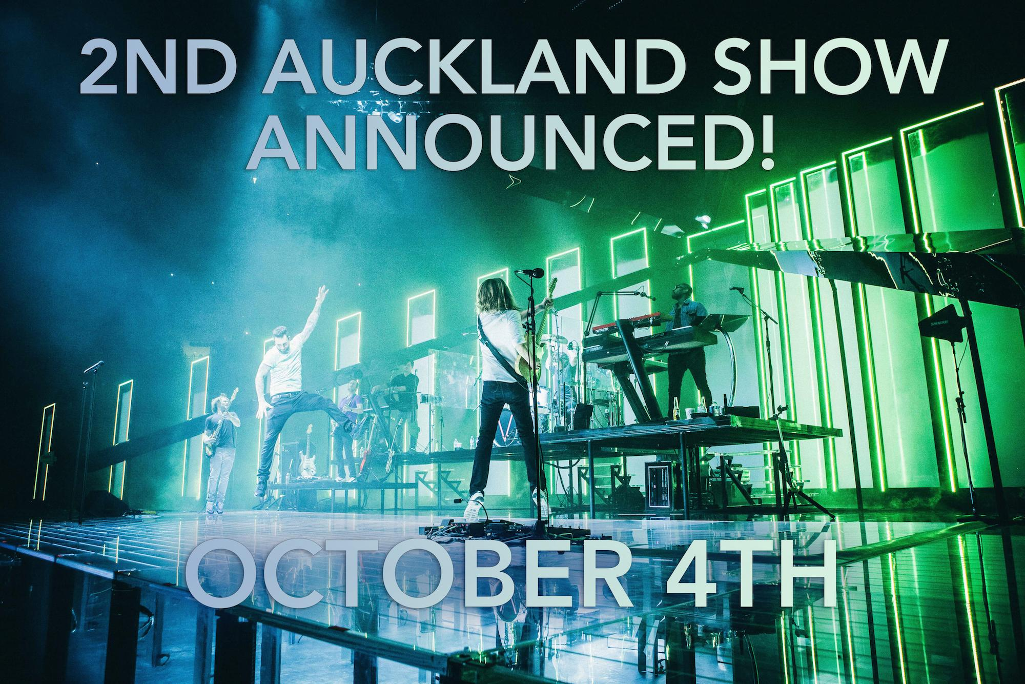 2nd show added for Auckland. Oct. 4th. Onsale now! http://t.co/1cMmz60HBN #M5NZ http://t.co/nkZMdI90P7