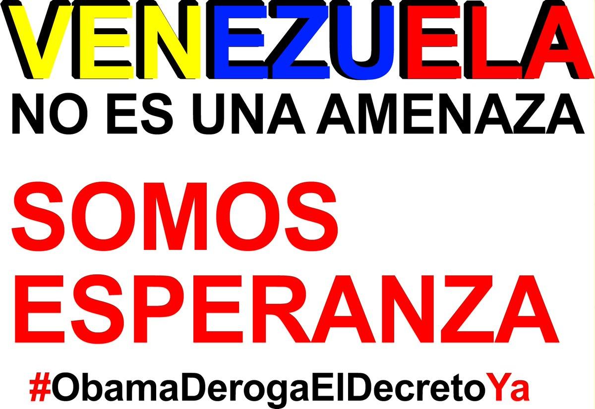 Vamos de una vez  revolución temprana  tenemos que hacer  #VenezuelaEsEsperanza #ObamaDerogaElDecretoYa http://t.co/BQ1ZFvisPm