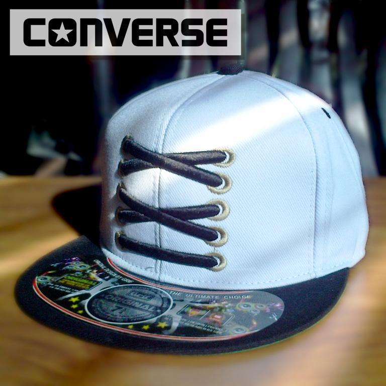 Snapback Converse Tali White  #Harga 50rb #Order via BBM: 7E87505D || #Aksesoris #Distro<br>http://pic.twitter.com/1wB6RNa2ar