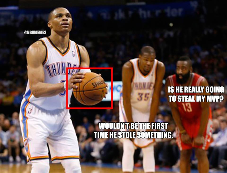 Nba memes on twitter quot james harden amp kevin durant talking about