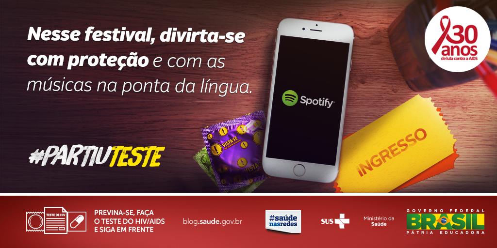 Prepare-se p/ o festival: ouça a playlist http://t.co/uFLDhqfeJN  e não esqueça a camisinha #PartiuLolla #PartiuTeste