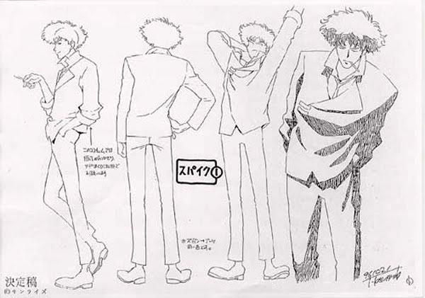 Paquito Disco On Twitter Quot Model Sheets Of Cowboy Bebop