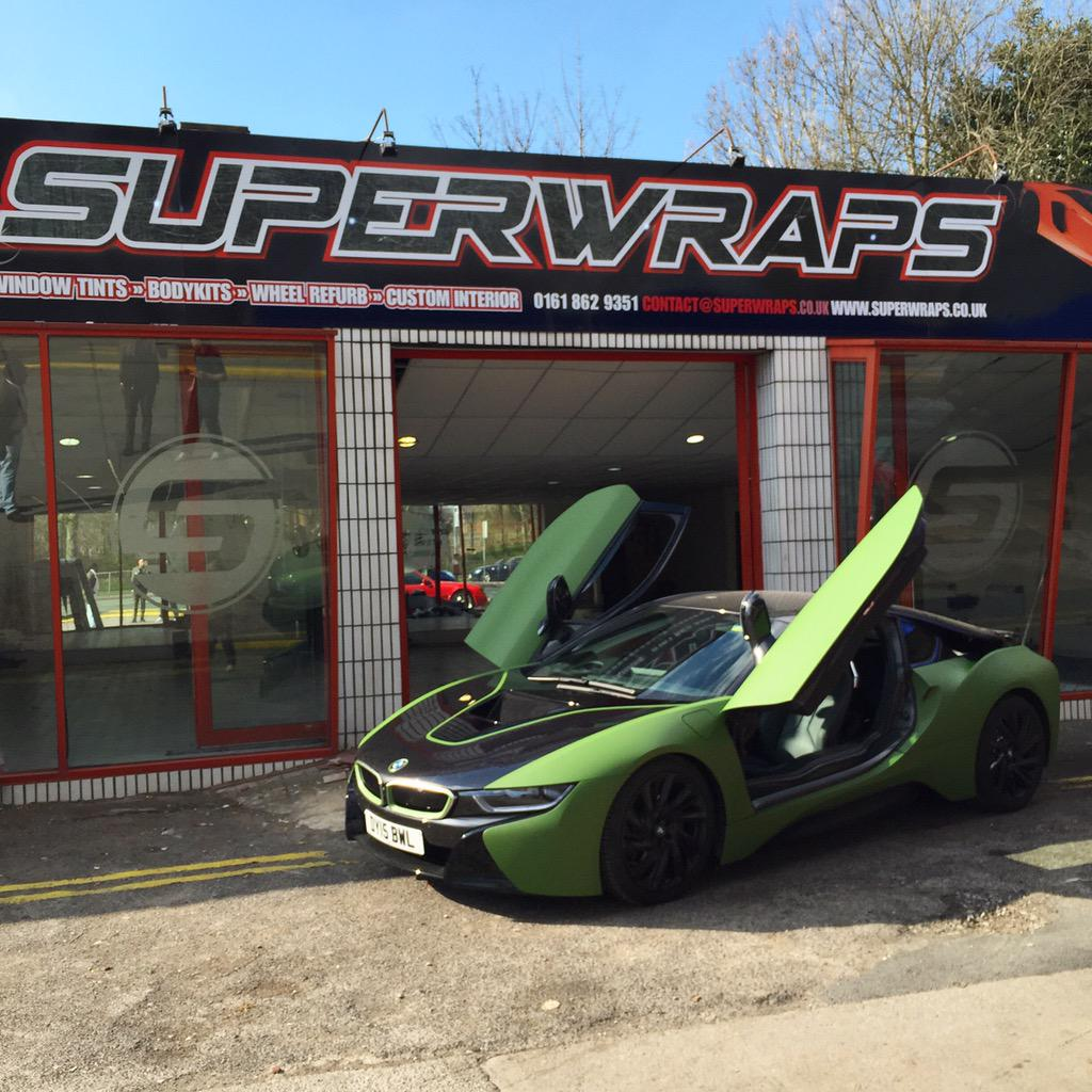 Superwraps On Twitter The Finished Product Bmw I8 In Matte
