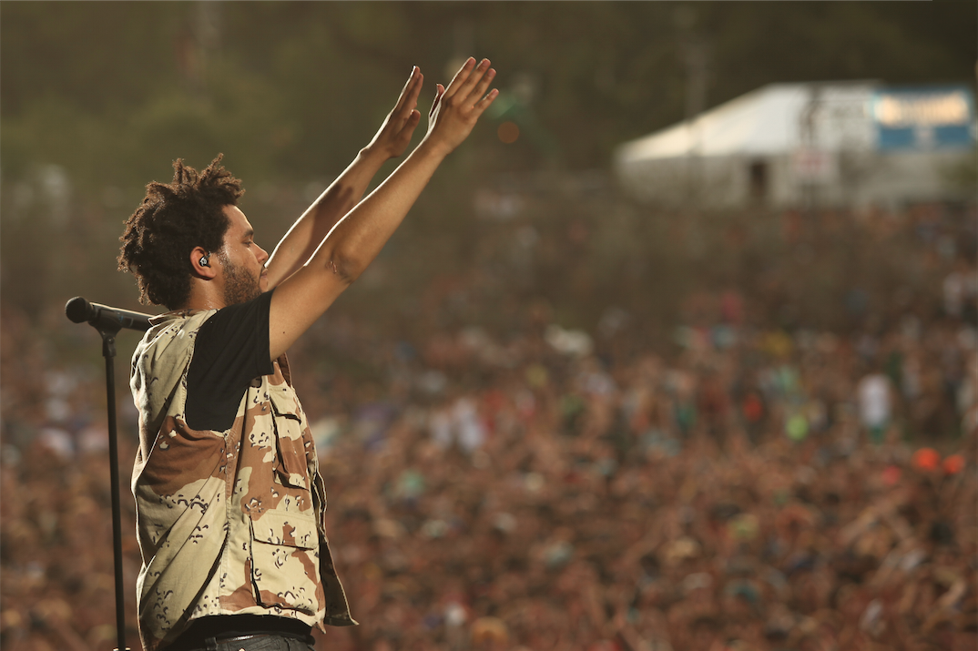 Raise your hand if you're as excited as we are to see @theweeknd's headlining set at #Lolla! http://t.co/xME6I5gT5G