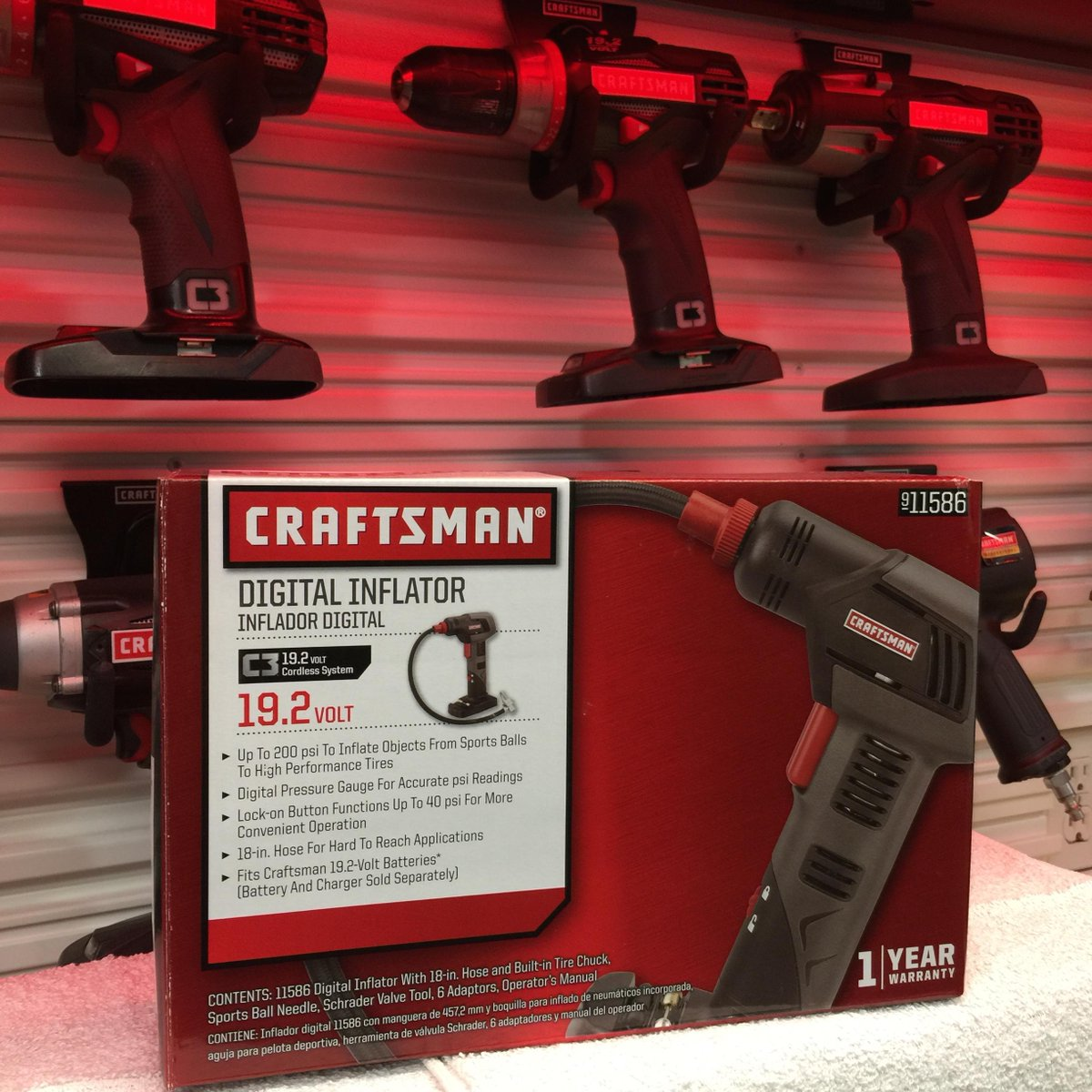 Retweet for a chance to #WIN this @Craftsman C3 Cordless Inflator! Enter http://t.co/CZuw41cVcP #tools #giveaways http://t.co/Ahdwe9p4bH