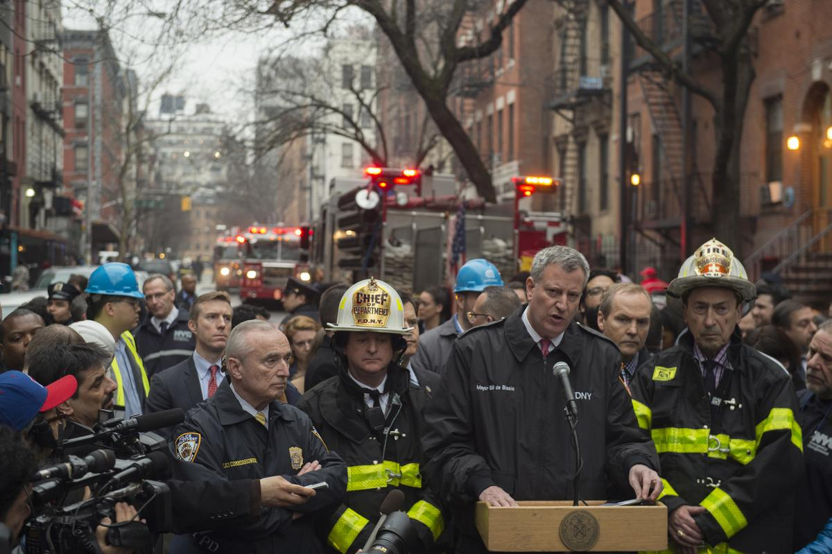If you smell gas, please immediately call 911 or @ConEdison. #EastVillage