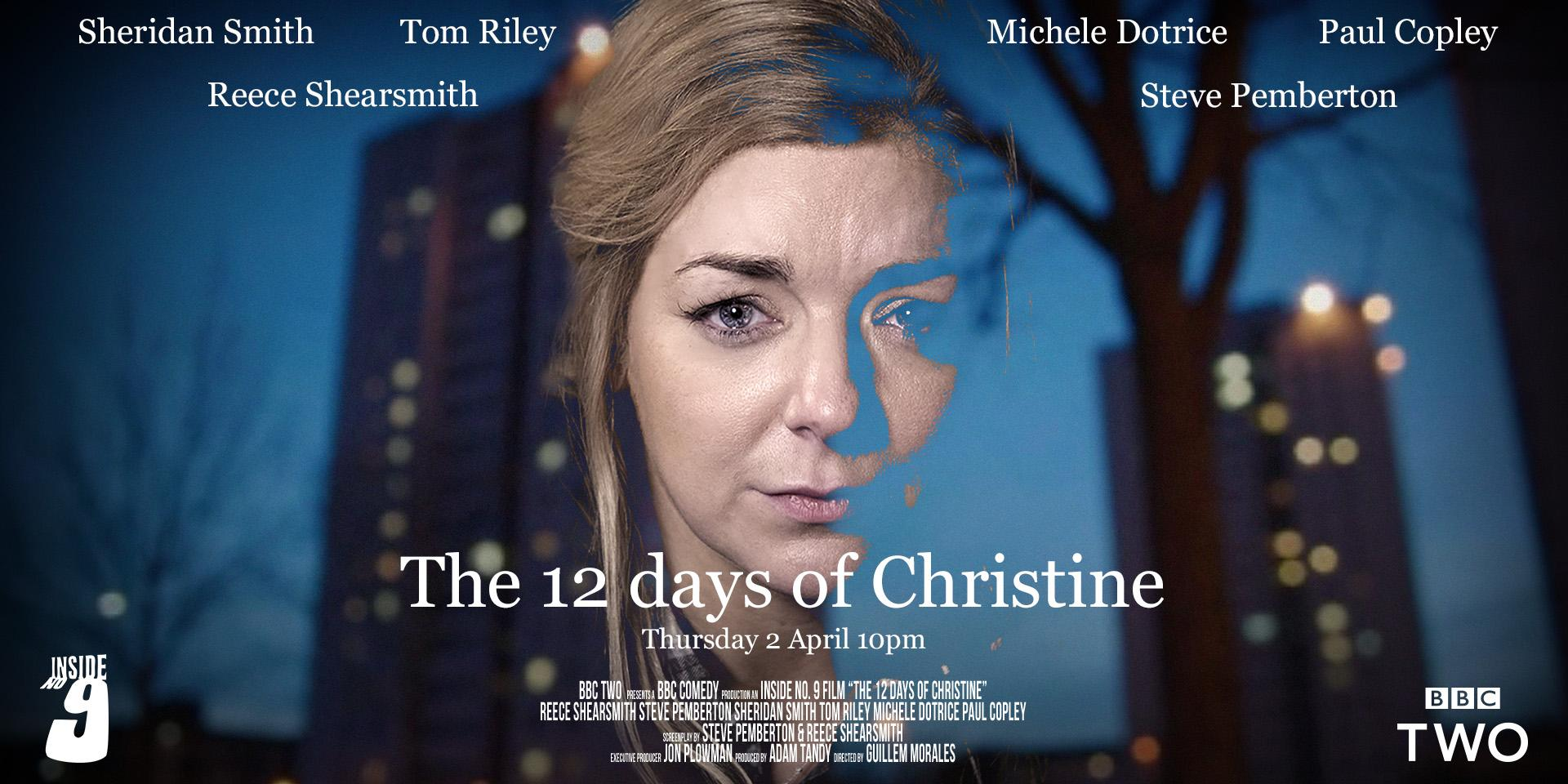 RT @BBCTwo: Next week's #InsideNo9 stars @Sheridansmith1 as Christine, whose life begins to unravel before her very eyes. http://t.co/gu9O1…