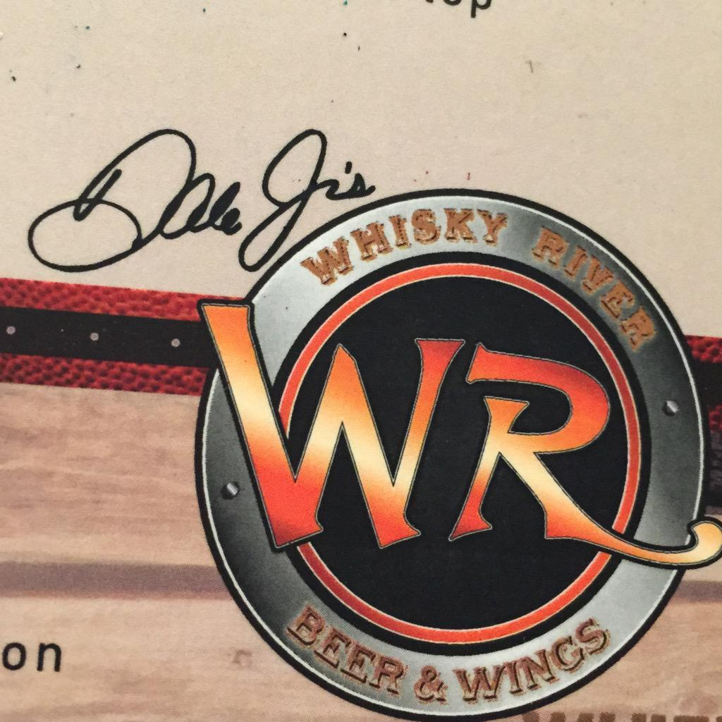 Tried out @DaleJr 's new Whiskey River during my layover in Charlotte. Thanks Dale