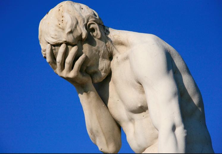 If Daxter Miles Jr. were a statue...  #Facepalm #StressVirginia #UKvsWVU http://t.co/heCZPUOIGs