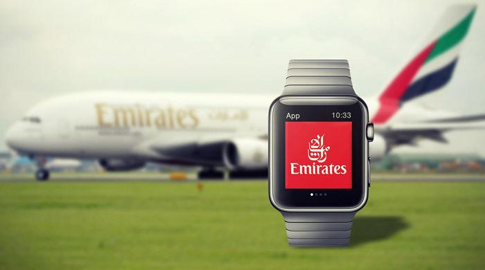 RT @domdelport: FIRST : Travel App / @emirates Airlines Releases their First-Ever @AppleWatch App http://t.co/S8zQ8ouOYG #Tech http://t.co/…