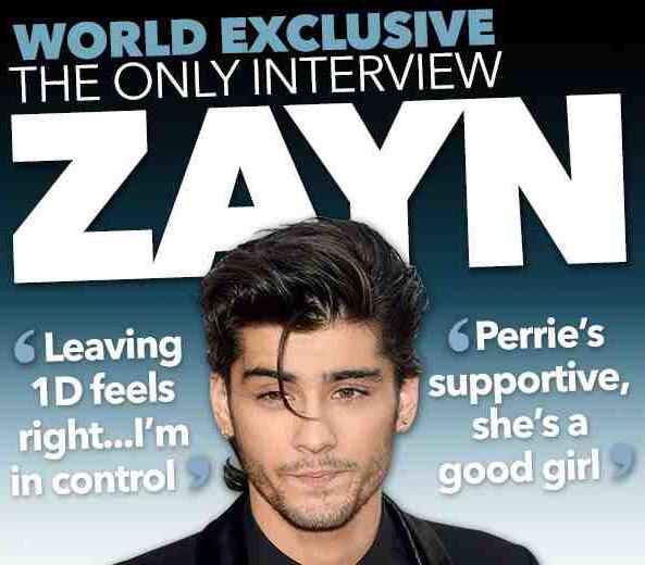 WORLD EXCLUSIVE  Read and listen to my interview with ex-1D member Zayn Malik here now: http://t.co/AQbv4Nu2wn http://t.co/lMmcZIqQw2