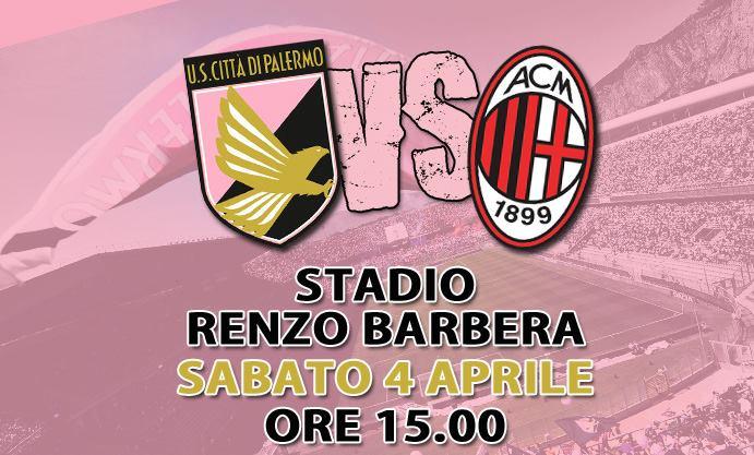 Rojadirecta PALERMO MILAN streaming orari partita diretta tv Serie A oggi sabato 4 aprile 2015