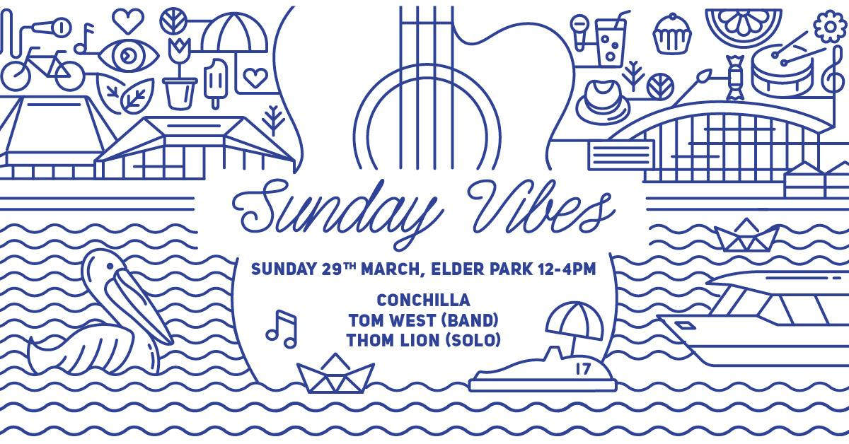 Loving the look of #sundayvibes at the Elder Park rotunda. All kicking off this Sunday, 12-4pm. #Adelaide #MusicSA http://t.co/9GvR8JX0FT