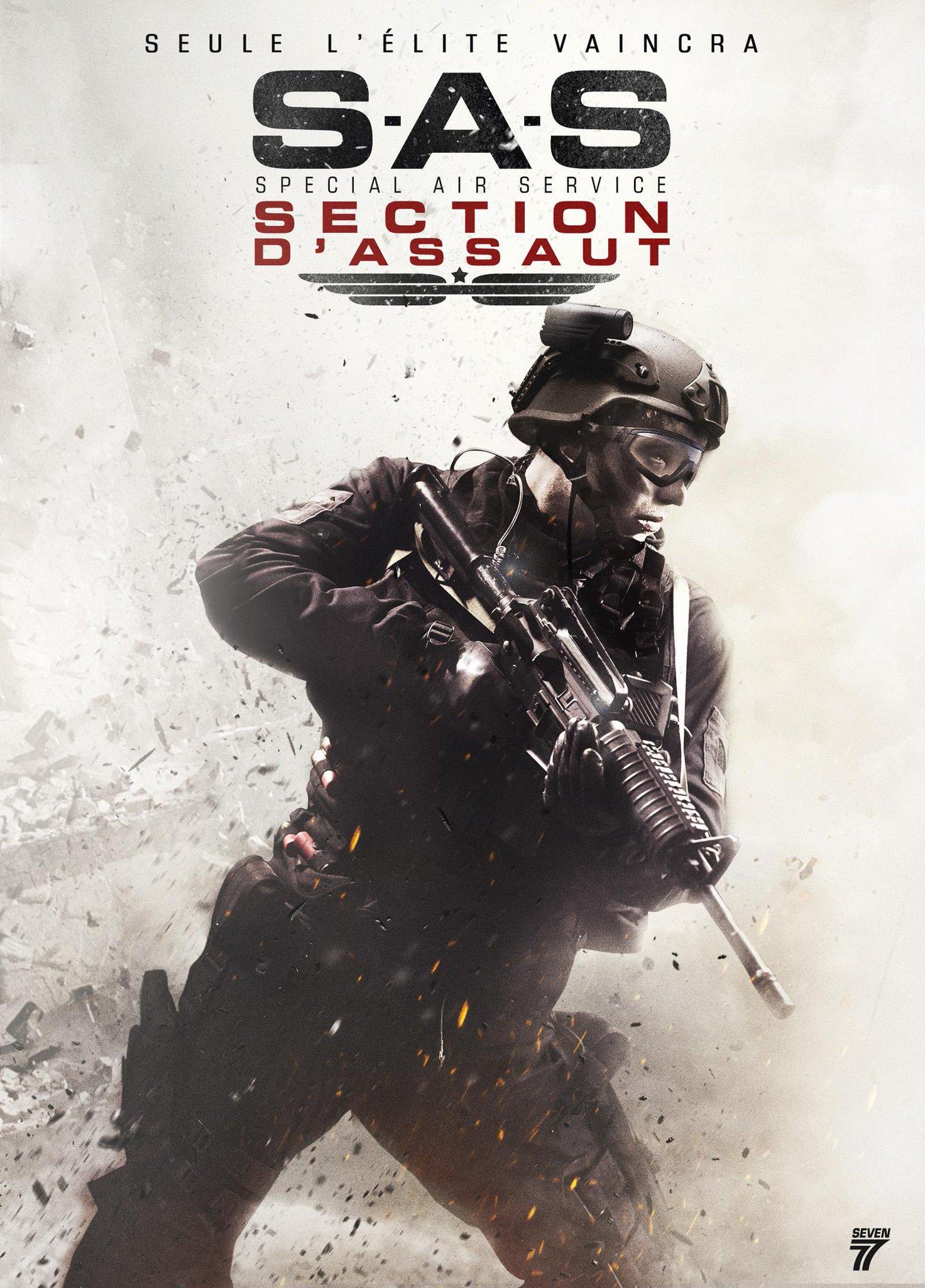 S.A.S. : Section d'assaut  film complet