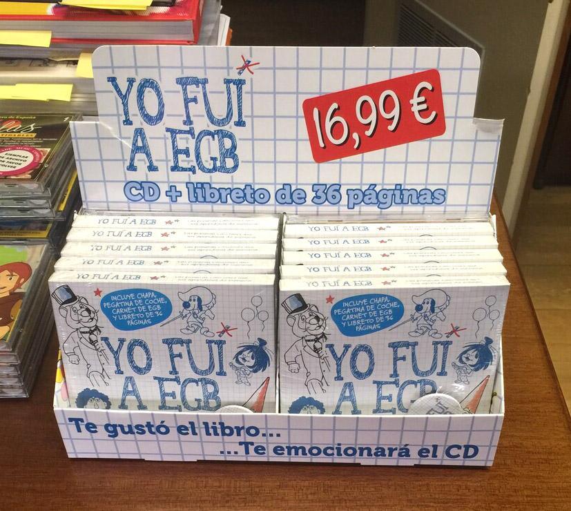 YO FUI A EGB CD