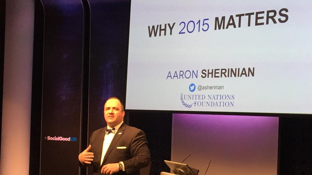 .@ASherinian talks about the opportunity of 2015 and why this year matters #2030Now #action2015 @action2015 http://t.co/7YB6YQRZer