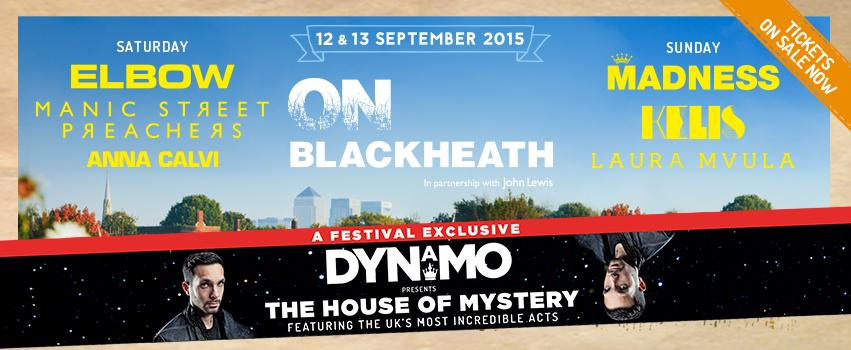 RT @seetickets: .@Dynamomagician presents The House of Mystery @onblackheath 2015 - A UK festival exclusive! http://t.co/S0ume4QBWD http://…