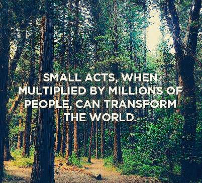 Create #PositiveRipples → #ff @KirstenHenry Small acts,when multiplied by millions of people,can transform the world. http://t.co/8Cx05JAZSr