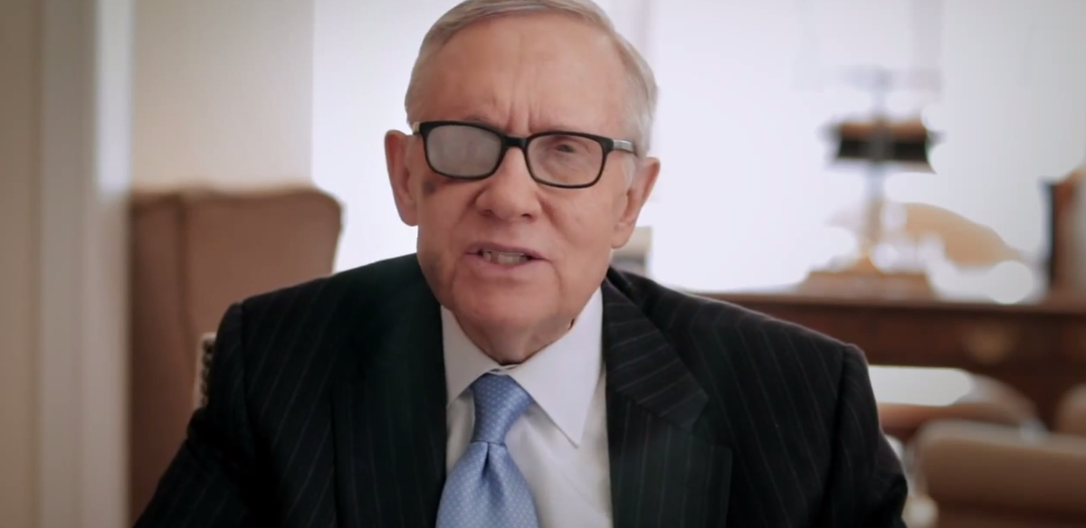 Was Harry Reid beat up by mobsters?