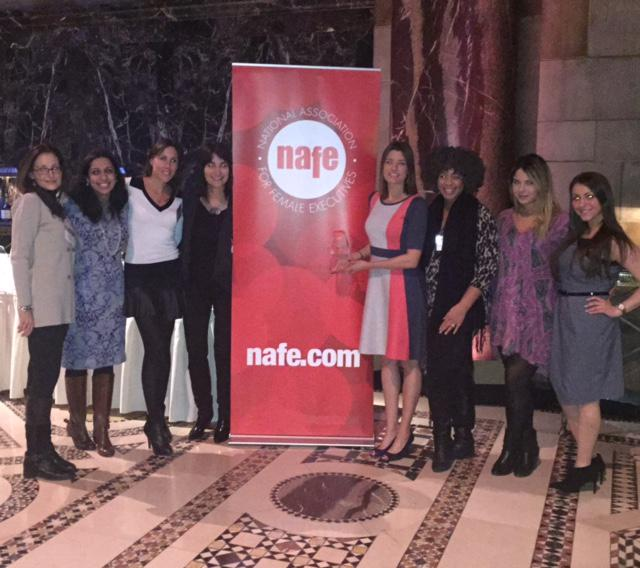 Very proud to be honored by @_NAFE_ as a Top 50 Company for Executive Women. See why: http://t.co/Czz1dN65Pn #nafetop http://t.co/7ctVD7bXDL
