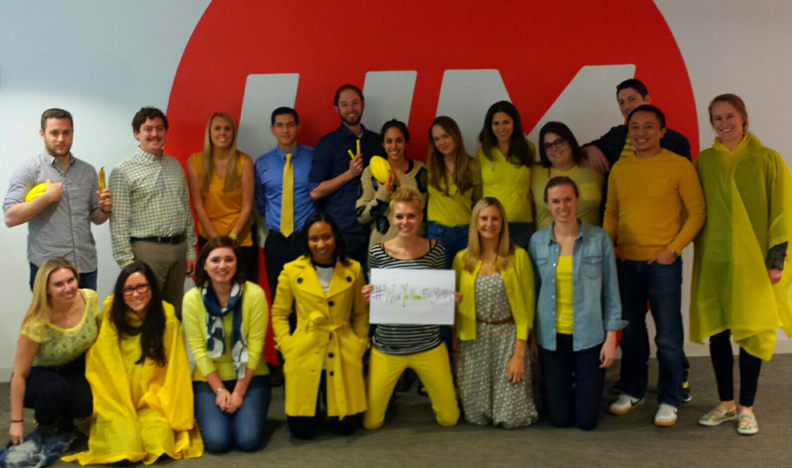 UM is participating in #WearYellowForSeth today, are you? http://t.co/NL3KKe52An